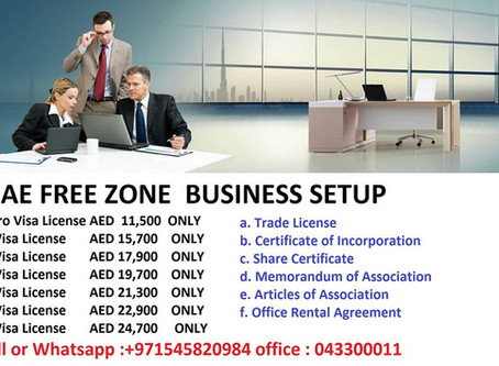 FREE ZONE NEW BUSINESS SETUP