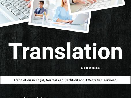 Legal Translation In 100 languages in UAE