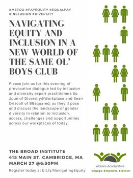 Women Accelerators Event Flyer