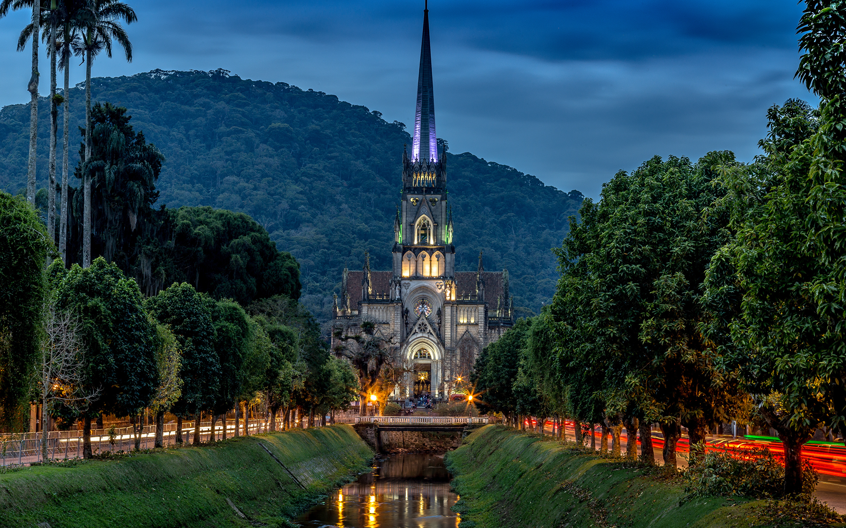 Brazil_Temples_Church_Evening_Catedral_d
