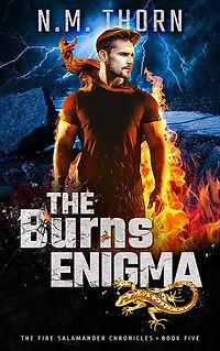 The Burns Enigma | N.M. Thorn | Urban Fantasy Author