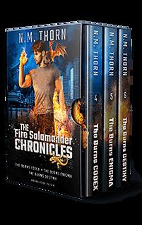 The Fire Salamander Chronicles Series| N.M. Thorn