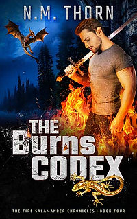 The Burns Codex | N.M. Thorn | Urban Fantasy