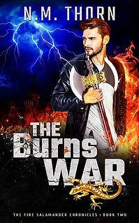 The Burns War | N.M. Thorn | Urban Fantasy Book