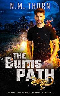 The Burns Path | N.M. Thorn | Urban Fantasy Novel