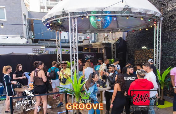 THE LATIN GROOVE POOL PARTY