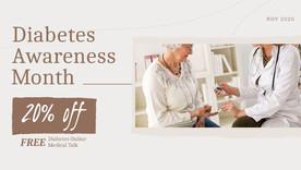 Diabetes Awareness Month: 20% off at all Jasper Lodge Nursing Homes
