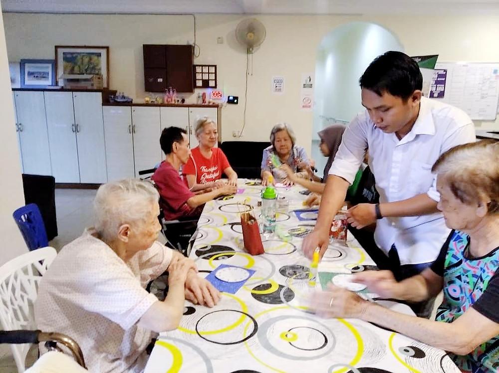 D.I.Y. handcraft activities at Jasper Lodge Kuantan