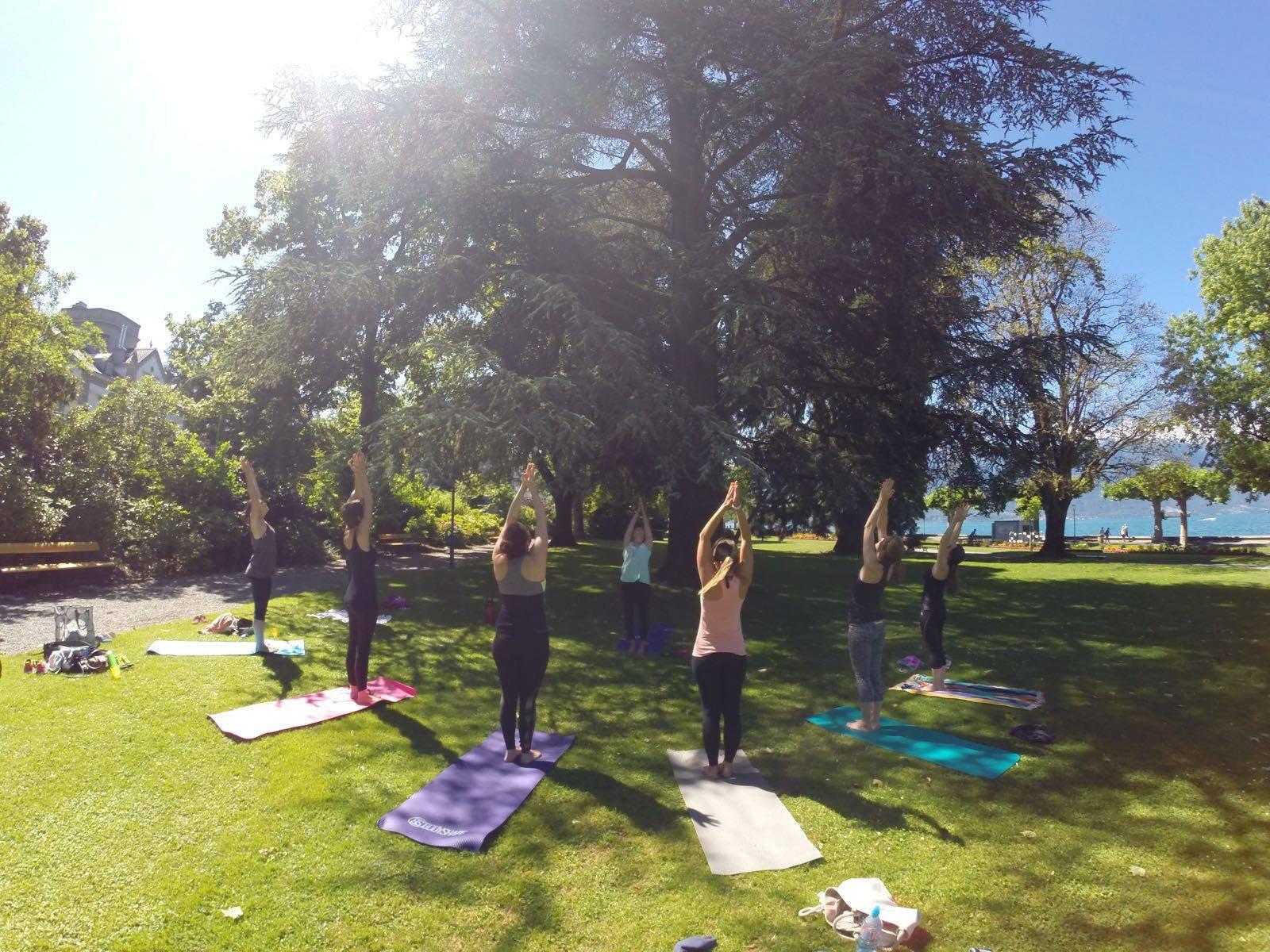 25.04.21 - Hatha Yoga au Parc Roussy