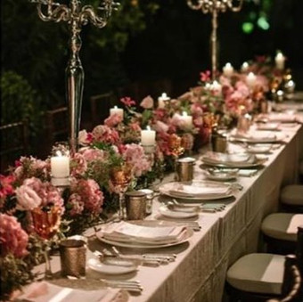 wedding table runner