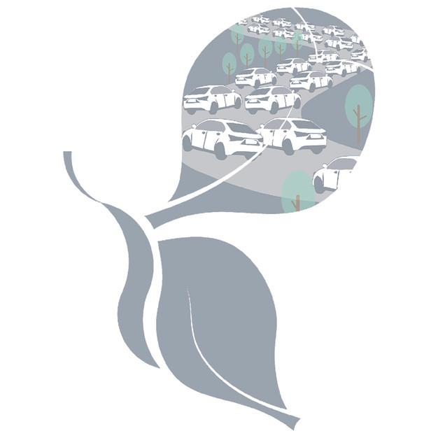 都市道路綠帶形式對塞車駕駛者的生心理效益影響