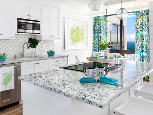 What you need to know about Recycled Glass Countertops