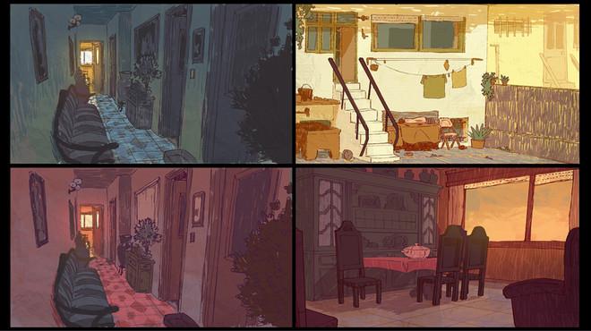 """""""Estou"""" Shortfilm - Design"""