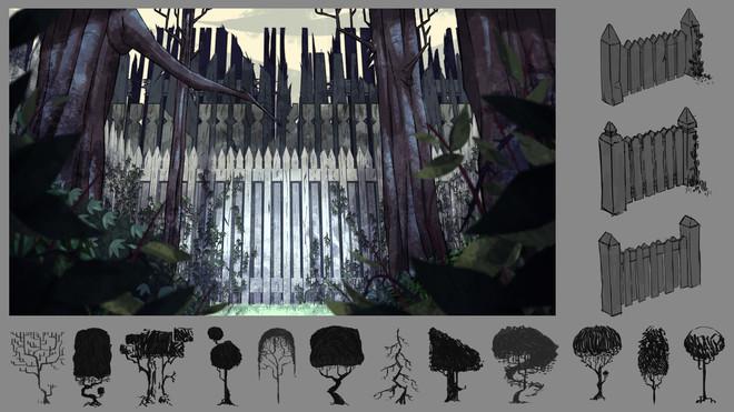 """""""Fences"""" Shortfilm - Design"""