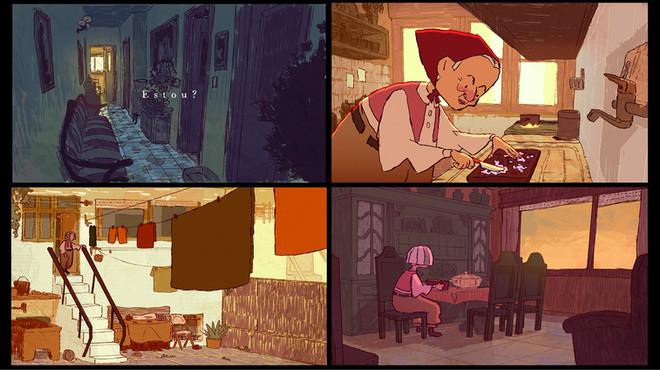 """Estou"" Shortfilm - film stills"