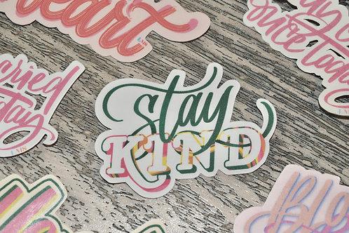 Stay KIND Sticker