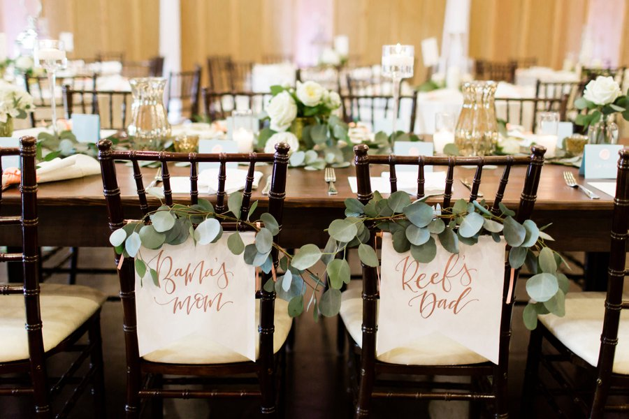 Chair SIgns - Miranda & Stephen - DE