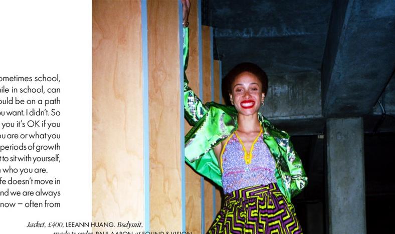 Elle Adwoa Aboah September 2020 Cover