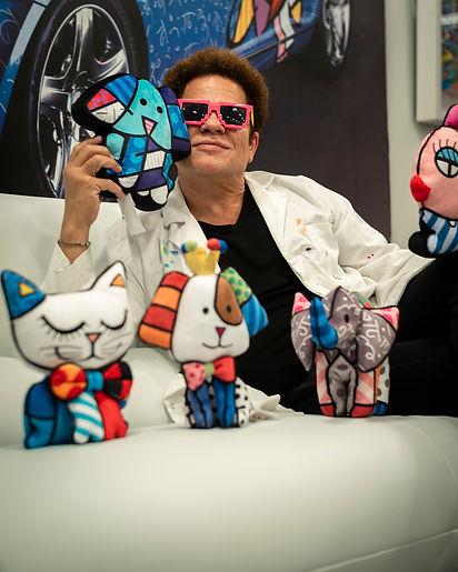 Romero Britto, Miami Vibes Magazine