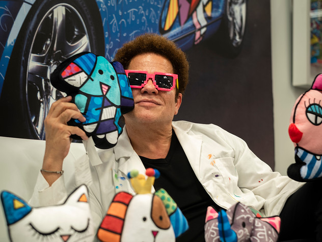 Romero Britto: Creating Music for the Eyes