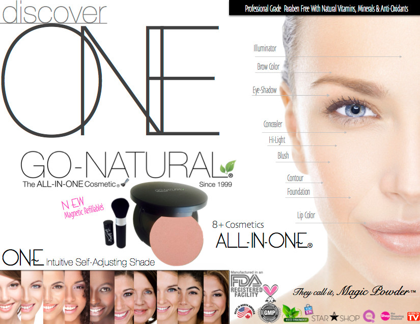 The All-In-One Makeup Go-Natural The All-In-One Cosmetic Best Makeup Canada Usa Since 1999