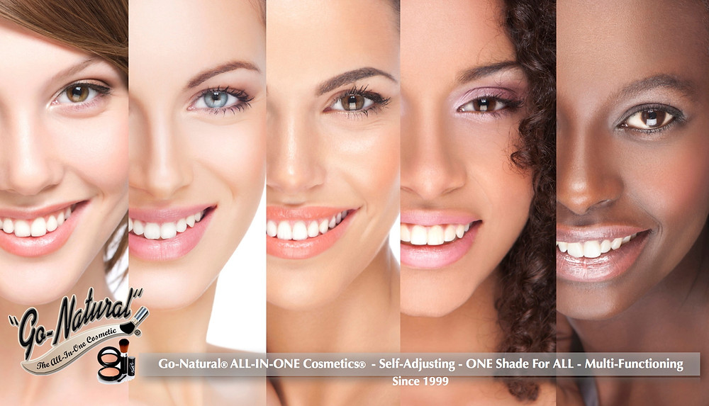 Go Natural ALL IN ONE Cosmetics Logo