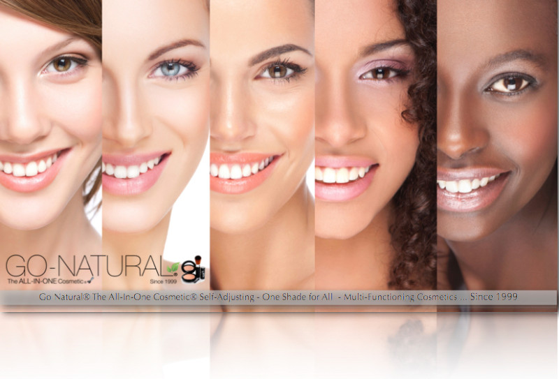 The All-In-One Makeup Go-Natural The All-In-One Cosmetic Canada Usa Since 1999