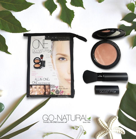 Go-Natural The All-In-One Cosmetic Makeup Powder Las Vegas