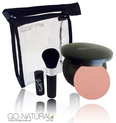 Go-Natural The ALL-IN-ONE Cosmetic Kit -