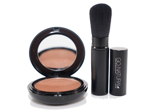 Go-Natural® The ALL-IN-ONE Cosmetic®   Self-Adjusting, Multi-Use Magic Powder™