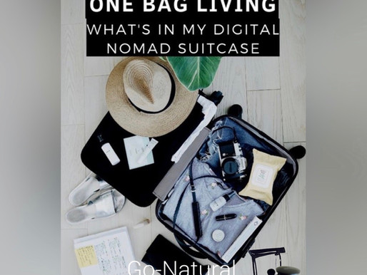 Summer packing list ...what's in your bag?