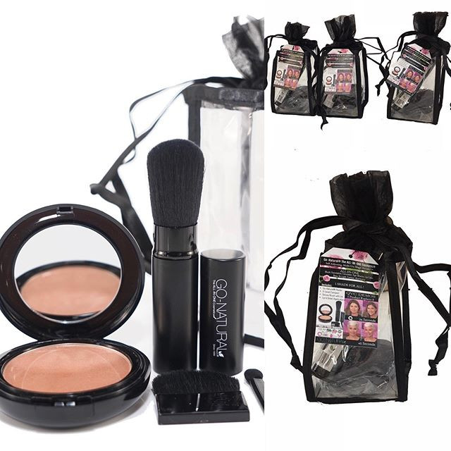Go-Natural ALL-IN-ONE Cosmetic Drawstrin
