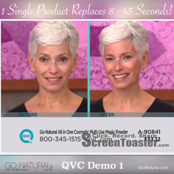 QVC Demo 2 - 45 Seconds !