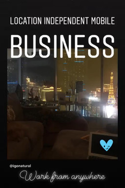 Location Independent Mobile Business Opportunities Go-Natural Inc.