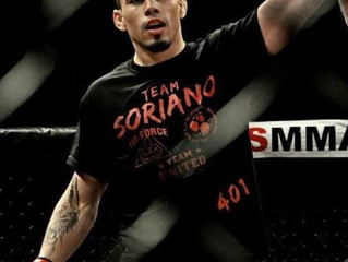 RI UFC VET SEAN SORIANO HOMECOMING SCHEDULED FOR MAY-CES MMA