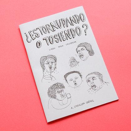 LIBRO PARA COLOREAR ¿ESTORNUDANDO O TOSIENDO?  |  CAROLINA IBAÑEZ