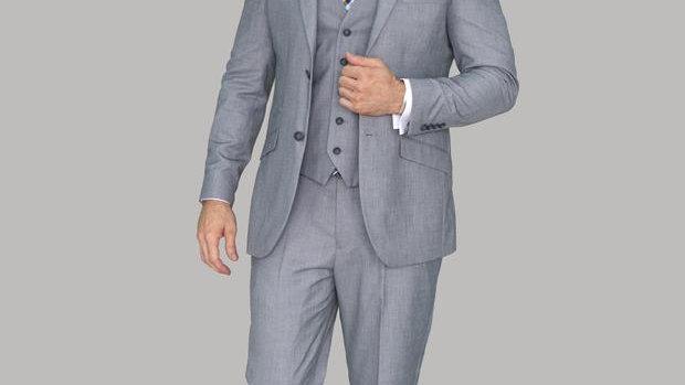 Cavani Men's Three Piece Suit