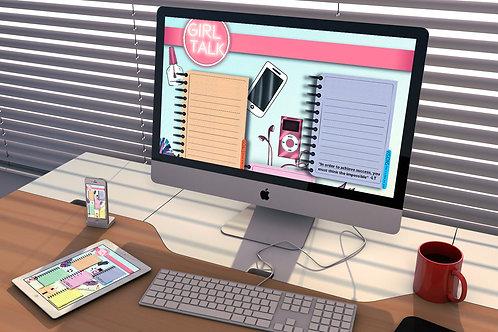Girl Talk Vision Board Download