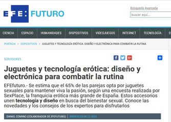 Juguetes y tecnología erótica: diseño y electrónica para combatir la rutina
