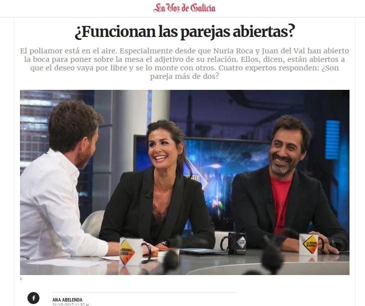 Colaboración La Voz de Galicia