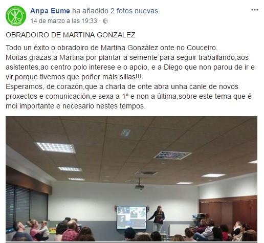 Educación sexual Martina González Veiga