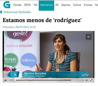 Estar de Rodríguez en las noticias de TVG