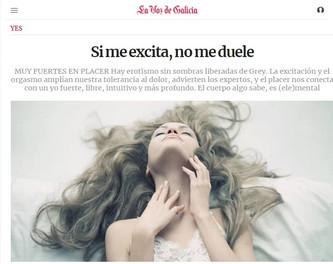 Si me excita, no me duele / La Voz de Galicia