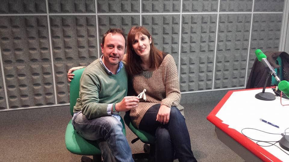 Ramón Castro con Martina