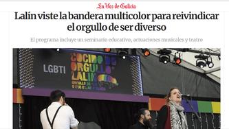 Entrevista La Voz de Galicia / Orgullo Lalín