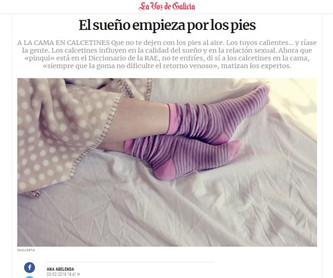 El sueño empieza por los pies