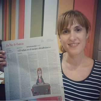 Entrevista para Muy de Cerca de La Voz de Galicia
