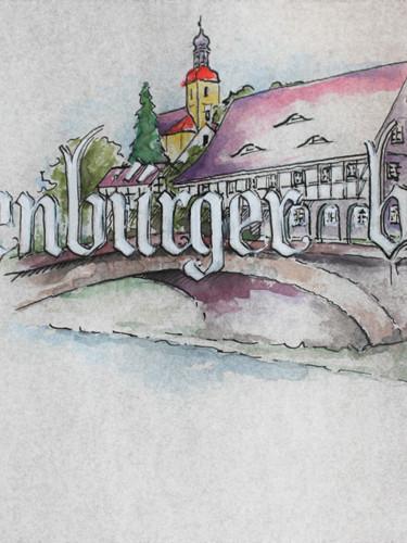 Illustriertes Schriftblatt, Kopf
