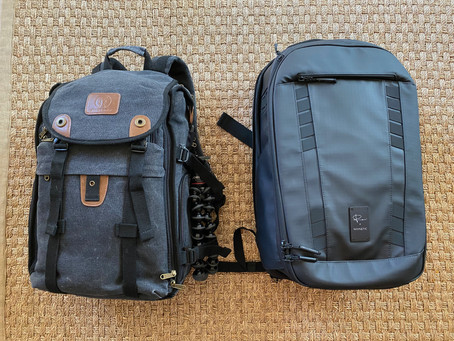 Using our Peter McKinnon Nomadic Backpack for the 1st Time!