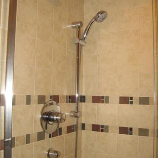 Shower with Handheld Spray